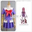 The Future Diary Mirai nikki 2nd Gasai Yuno Cosplay Costume Any Size