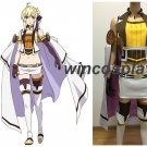 Record of Grancrest War Mage Siluca Meletes Silu-chan Dress Cosplay Costume