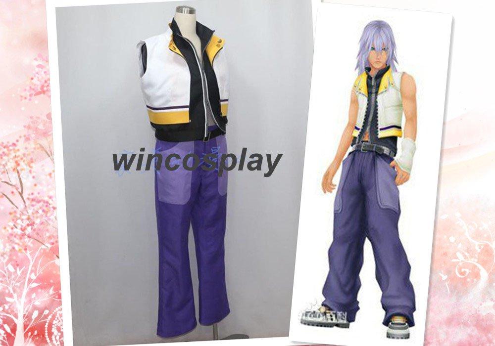 Kingdom Hearts 2 Riku Suit Uniform Cosplay Costume Custom Made