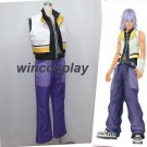 Kingdom Hearts 2 Riku Suit Uniform Cosplay Costume Custom Made