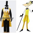 Gravity Falls Bill Cipher Human Cosplay Costume Custom Made