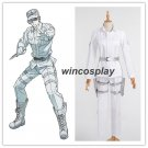 Cells at Work! WBC White Blood Cell Leukocyte Cosplay Costume Hat Cap Lot Outfit