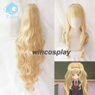 110cm Mashiro Rima Cosplay Wig Long Kinky Curly Shugo Chara Wig