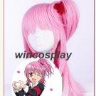 2 Colors Shugo Chara! Seiyo Academy Girls Pink cosplay wig Amu Hinamori Cosplay Wig