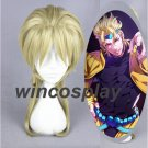 JoJo's Bizarre Adventure Dio Brando Cosplay Wigs Blonde Synthetic Party Hair