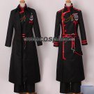 Anime D.Gray-man Hallow Allen Walker Cosplay Costume Custom Made Any Size