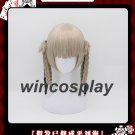 Kakegurui Kirari Momobami 35cm Short Wigs Gray Braids Styled Clip on Cosplay Wig