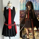 Akame ga KILL! Akame Cosplay Costumes Uniform Outfit +Accessories Customize