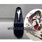 Akame Wig Anime Akame ga KILL Cosplay Wigs women Halloween black wigs
