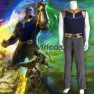 Avengers Infinity War Thanos Cosplay Costume men's outfit custom made