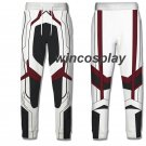 Avengers 4 Endgame Quantum Realm Cosplay Pants Men's 3D Print Sporty Trousers
