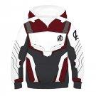 Kid hoodie Avengers 4 Endgame Advanced Tech royalblue / black Hoodies Sweatshirts Cosplay Sweater