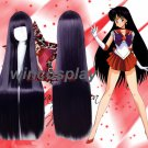 Sailor Moon Sailor Mars cosplay wig Hino Rei cosplay Long Purple Straight Cosplay Wigs
