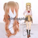 Citrus Aihara Yuzu cosplay wig Anime Long Hair Ponytail Cosplay Wig