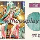 VOCALOID Hatsune Miku Sexy Maix Dress cosplay wig Split Cheongsam Cosplay wig