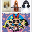 The Powerpuff Girls Cosplay wig Blossom Bubbles Buttercup cosplay wig adult size