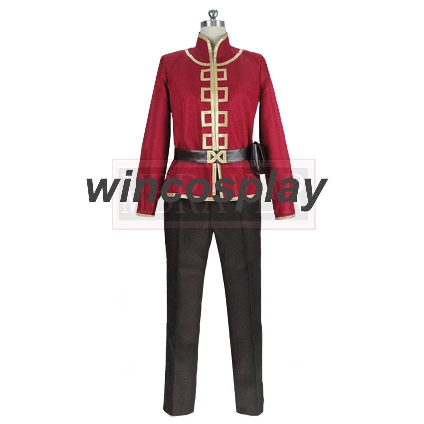 The Dragon Prince Cosplay Prince Ezran Costume Halloween Carnival Unifroms Custom Made Any Size