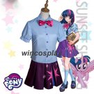 My Little Pony MLP Anthropomorphic Twilight Sparkle Cosplay Costume Dress Outfit kid adult size