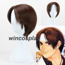 Game The King of Fighters KYO KUSANAGI Brown Cosplay Wig