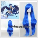 My Little Pony Princess Luna cosplay wig women blue wigs