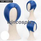 Anime Houseki no Kuni Benitoite Cosplay Blue Hair Wig Land of the Lustrous Cos