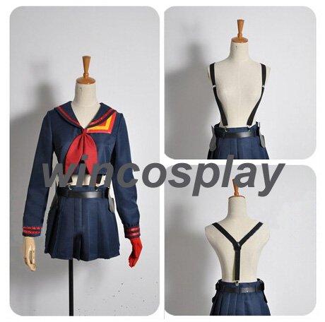 Kill la Kill Ryuko Matoi suit Cosplay Costume ryuko matoi costume halloween girl costume