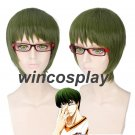 Kuroko No Basketball Midorima Shintaro cosplay wig halloween men cosplay wigs