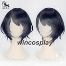 Japanese Game Alice cosplay wig from SINoALICE alice dark blue mix cosplay wig