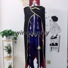 Code Geass Lelouch of The Rebellion ZERO Cosplay Costume Custom Made