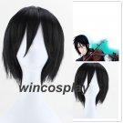 Black Butler Kuroshitsuji Sebastian Michaelis Cosplay Wig black wig
