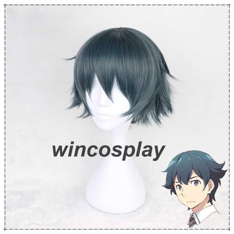 Eromanga Sensei Masamune Izumi cosplay Wig Short Hair Cosplay Wig