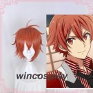 Fluffy Synthetic Straight Idolish7 nanse riku Cosplay wig nanse riku wig