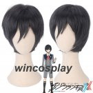 DARLING in the FRANXX 016 HIRO Cosplay Black Hair Wig Anime
