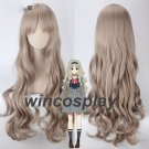 DARLING in the FRANXX 556 KOKORO Curly Cosplay Hair Wig Anime