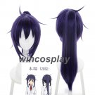 Himouto! Umaru-chan Motoba Kirie blue purple synthetic wig anime cosplay wig