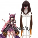 100CM X Long Anime Fate/Grand Order FGO Osakabehime Cosplay Wig