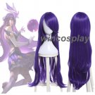 "League of Legends LOL Syndra Star Guardian 40"" Long Wigs Purple Wavy Cosplay Wig"