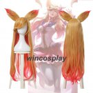 League of Legends OL Ahri Star Guardian the Nine Tailed Fox Long Cosplay Wig