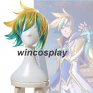League of Legends Ezreal Star Guardian the Prodigal Explorer Short Cosplay Wig
