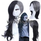 New Cosplay Wigs Tokyo Ghoul Uta Long Curls Wig Hair in Stock Retail Christmas Halloween cosplay wig