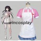 New Dangan Ronpa 2 Danganronpa Mikan Tsumiki Dress Cosplay Costume