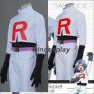 Team Rocket  James Kojirou cosplay costume Full Set Game Anime Pokemon Go!