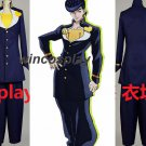 Cosplay JoJo's Bizarre Adventure Josuke Higashikata Costume Suit Uniform Outfit