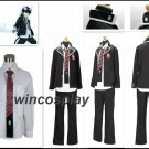 Ao no Blue Exorcist Okumura Rin School black Uniform Cosplay Costume Outfit