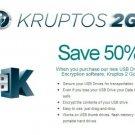 Kruptos 2 Go - USB Stick Encryption 2 , Encrypt your USB drive