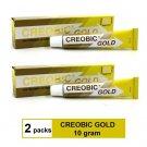 CREOBIC GOLD 10gram - TOPICAL ANTIFUNGAL CREAM - RINGWORM JOCK ITCH ATHLETE FOOT