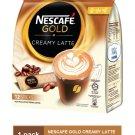 NESCAFE GOLD CREAMY LATTE PREMIX COFFEE (12 sticks X 33 gram)