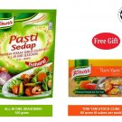 KNORR ALL IN ONE SEASONING 100 gram GIFT TOM YAM YUM STOCK CUBES HALAL