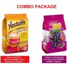 NESTLE NESTUM 3-IN-1 ORIGINAL (8s X 28g) + LOT100 GUMMY BLACKCURRANT 150g