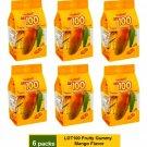 [6 PACKS] COCOALAND LOT 100 FRUITY GUMMY 150 gram - MANGO FLAVOR